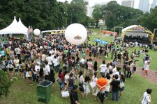 Ben & Jerry Chunky Fest @ Fort Canning