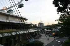 Bird's Eye View of Singapore Sunset