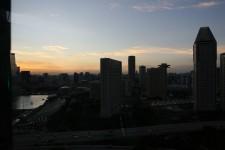 Singapore Evening Landscape