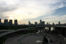 A Sunset From Marina Barrage