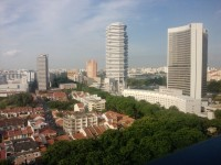 A Beautiful & Hot Day in Singapore