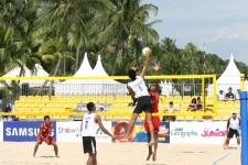 AYG 2009 – Beach Volleyball Semi-Final