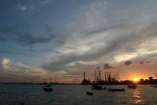 Singapore Sunset from West Coast Park