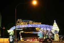 Christmas Lights in Tropical Singapore