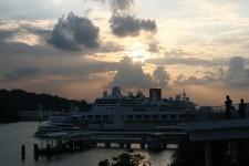 Sunset in Singapore (Vivo City)