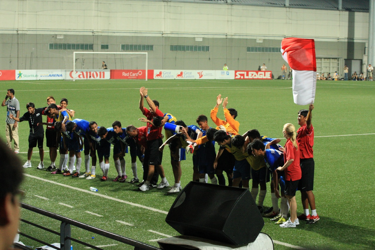 Canon Lion City Cup – Newcastle U15 vs Singapore U15