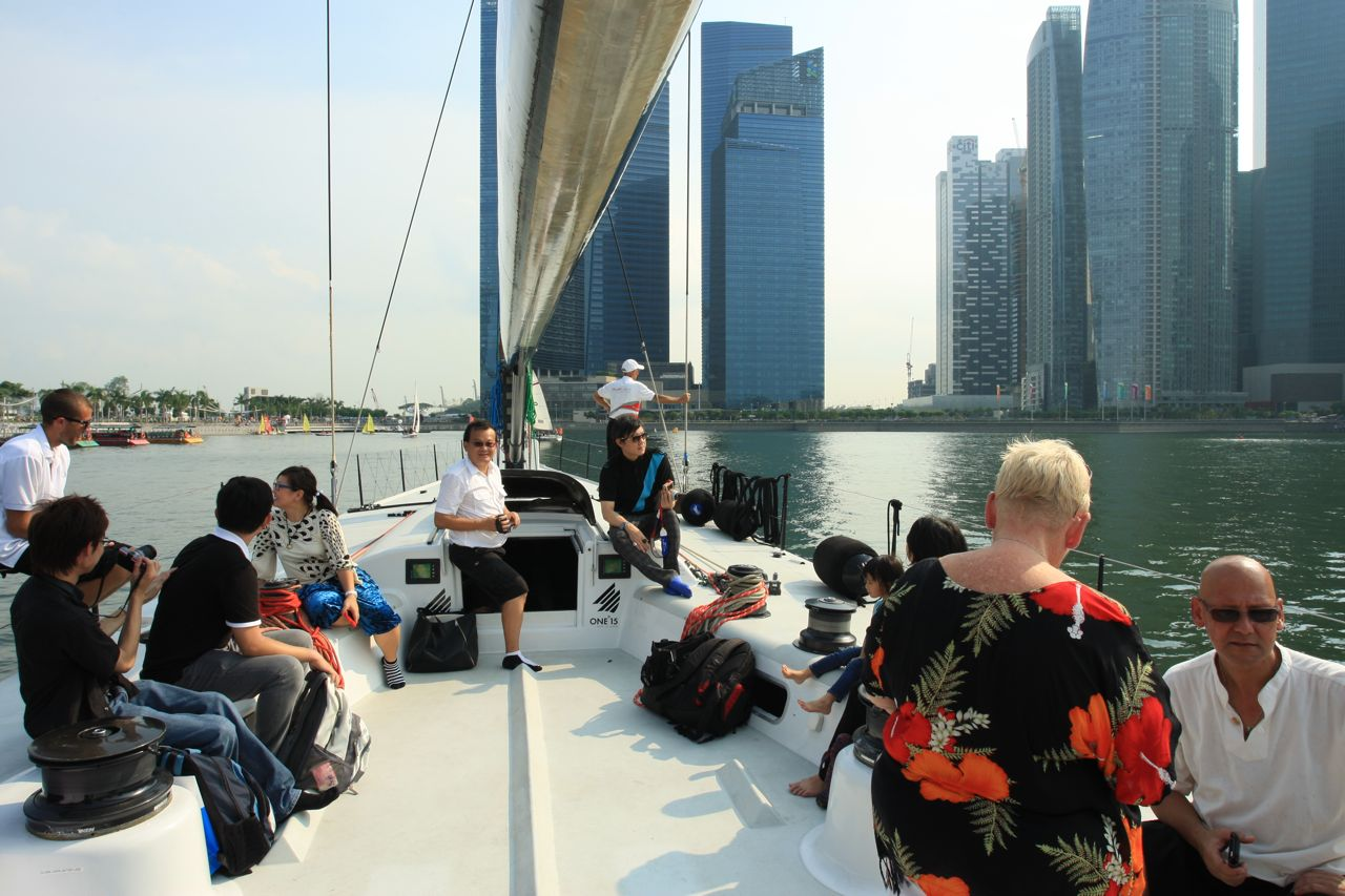 All hands on deck Audi Ultra Super Maxi Yacht!