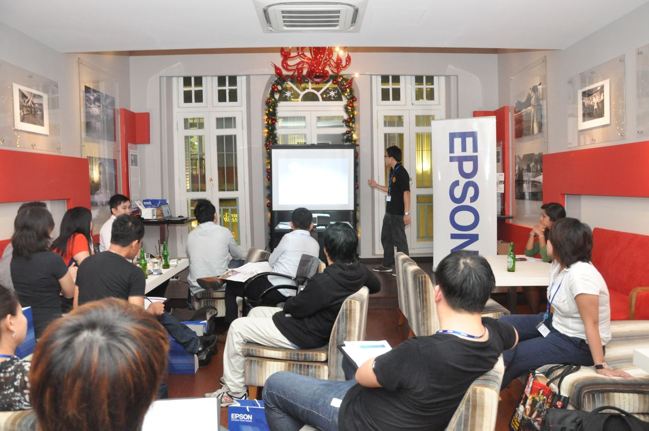 Epson Projector Launch