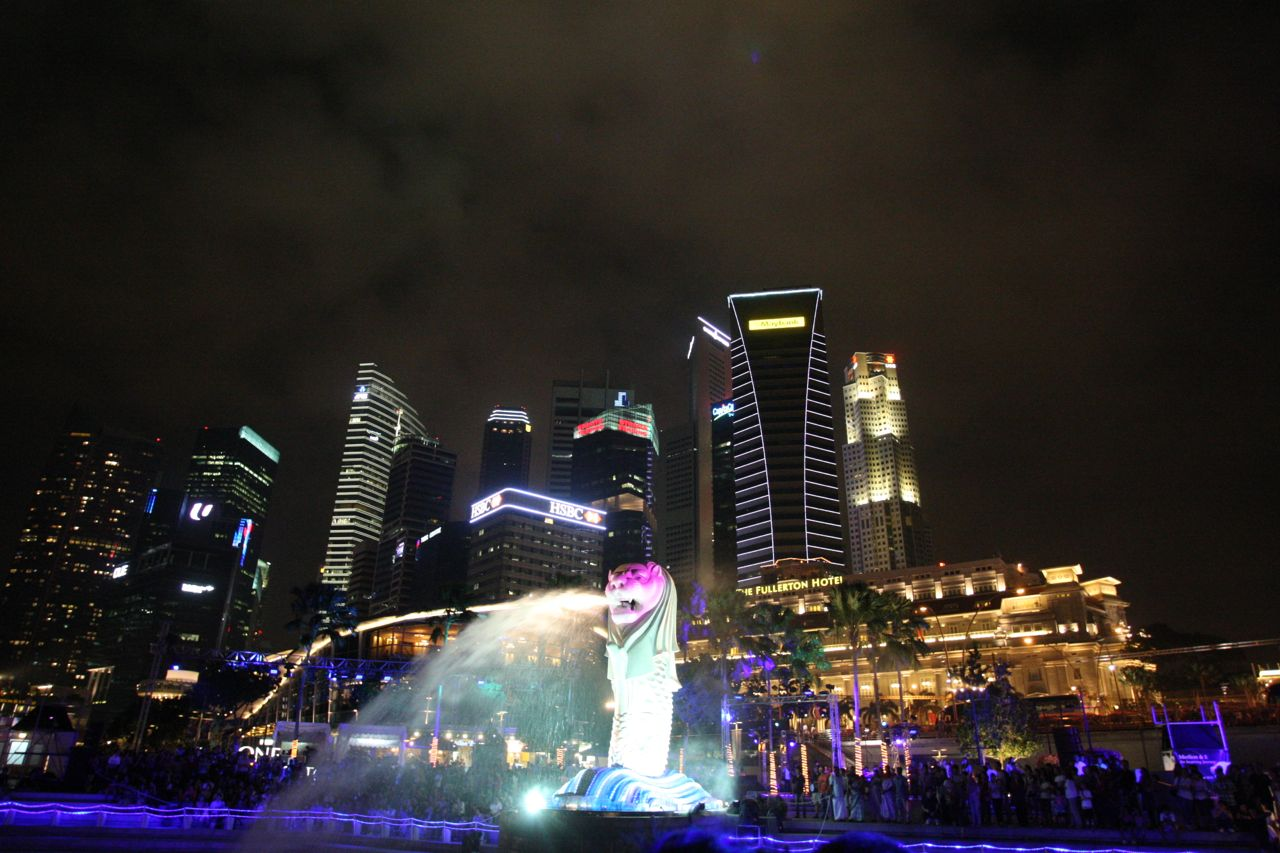 Happy 40th Birthday to Merlion !