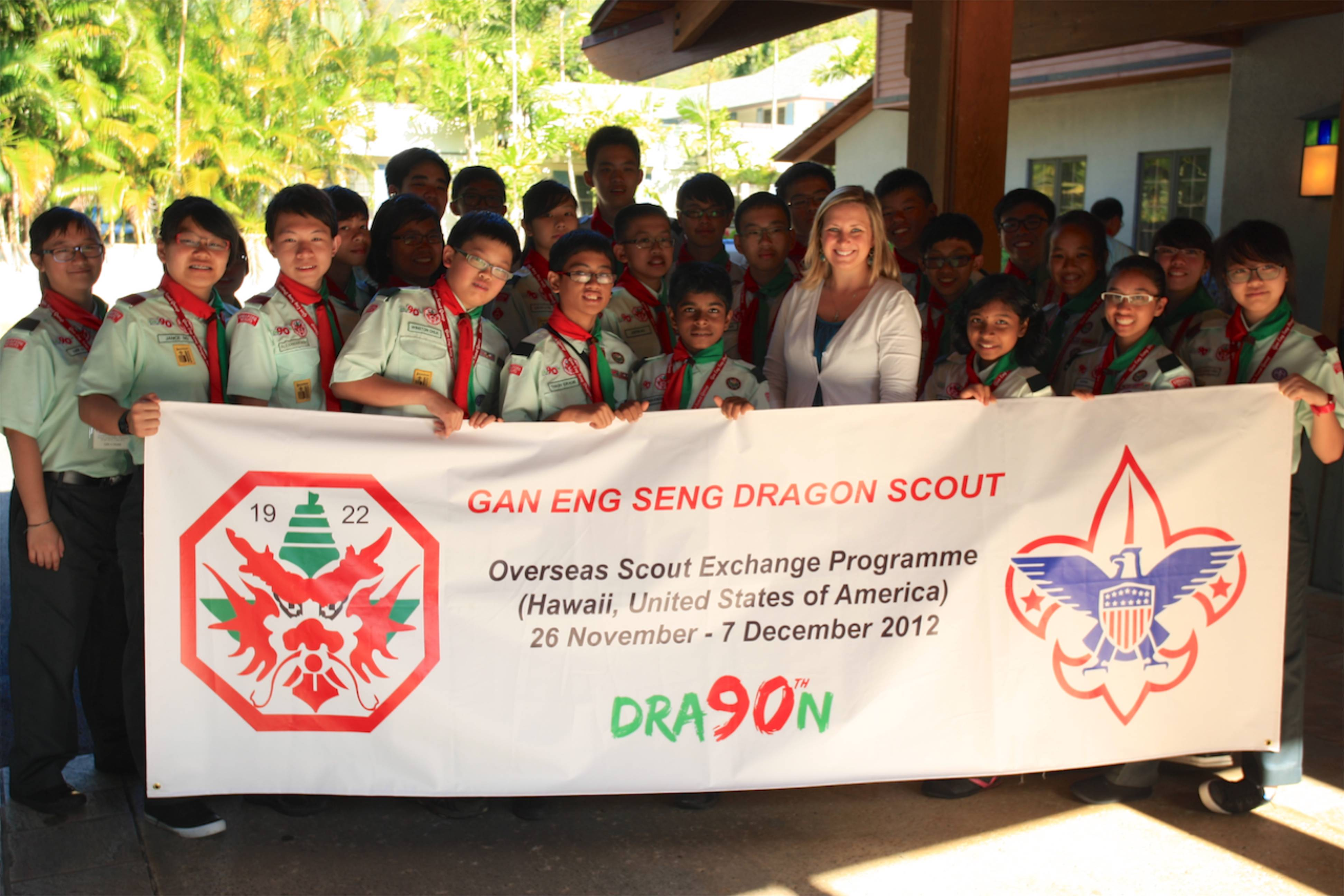 DSG Hawaii Overseas Exchange 2012 Day 4 – A Scouting Exchange