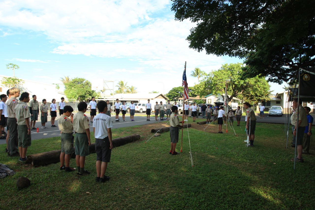 DSG Hawaii Overseas Exchange 2012 Day 5 – A Mini Jamboree