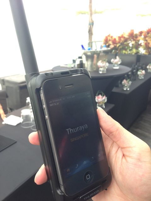 Thuraya SatSleeve – iPhone into Satellite Phone