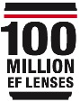 Canon Achieves 100 Million EF Lenses!