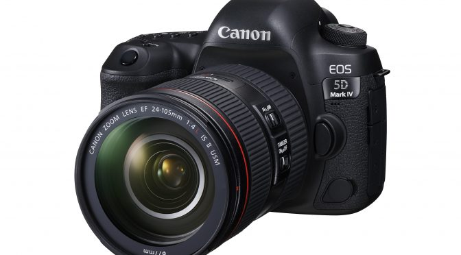 Canon launched EOS 5D Mark IV