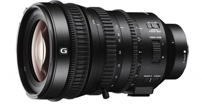 Sony introduced E PZ 18-110mm F4 G OSS lens