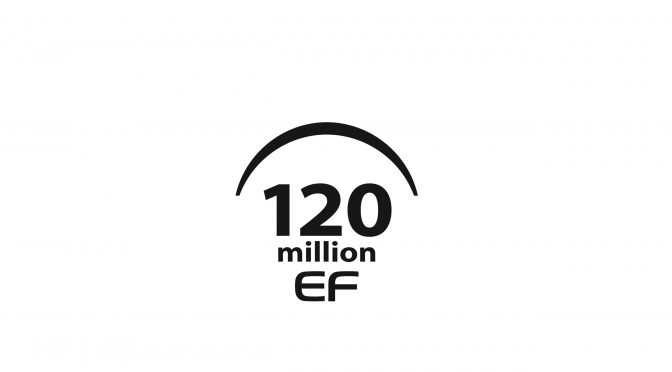 Canon celebrates 120 million interchangeable EF Lenses