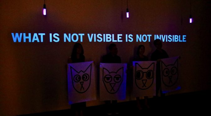 What is Not Visible is Not Invisible ?