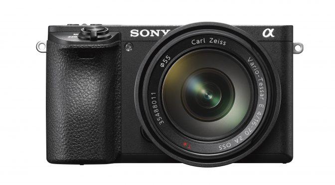 Sony introduced A6500