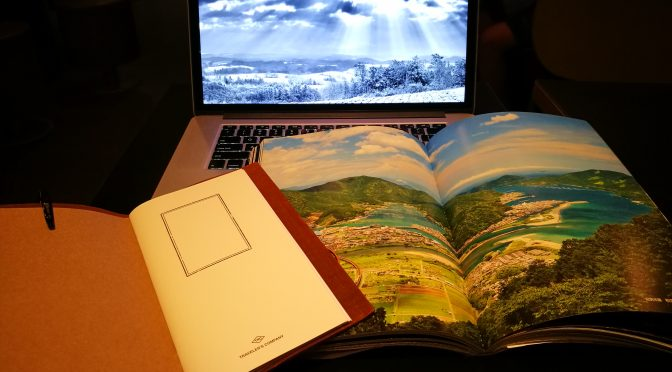 A dream, an inspiration to produce/print my own travel story book