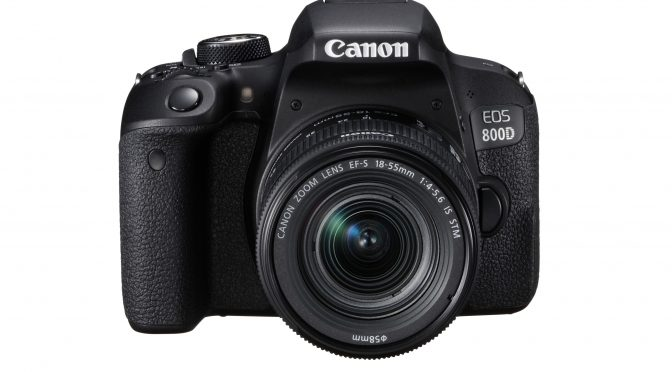 Canon announced EOS 800D