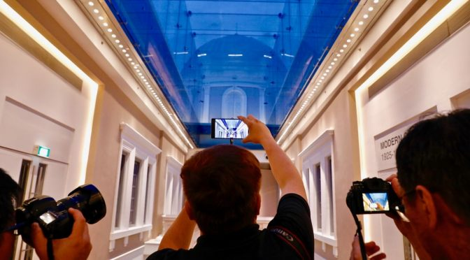 Tango-enabled VR and AR tour of the National Museum of Singapore