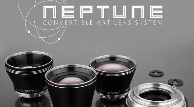 The Neptune Convertible Art Lens by Lomography