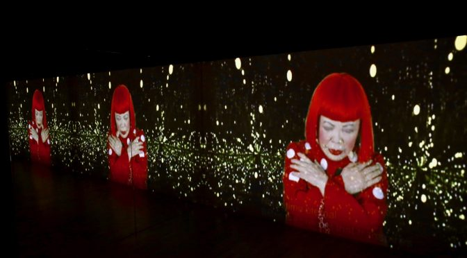 An Infinity Rainbow World of Artworks with Yayoi Kusama