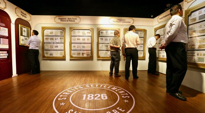 150th Anniversary of the First Postage Stamps Issued in Singapore