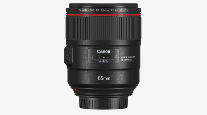 Canon announced new lenses