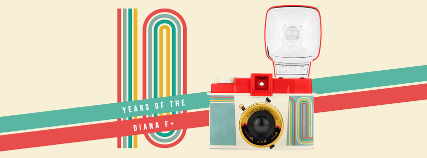 Lomography celebrates 10 years of Diana F+