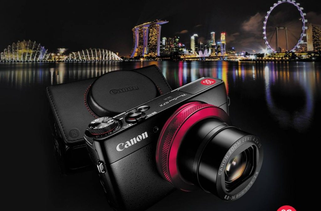Canon introduces SG50 limited edition PowerShot G7 X