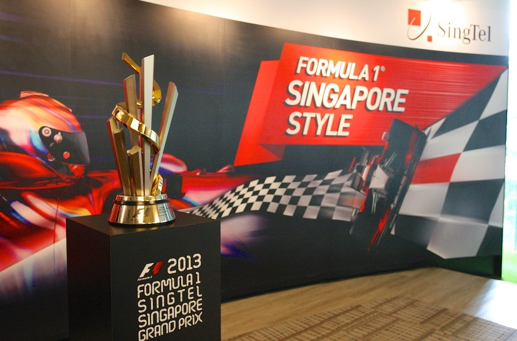SingTel Presents Formula 1 Singapore Style!