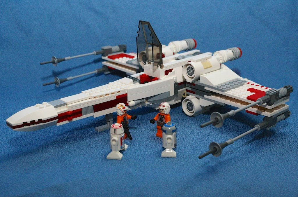 Star Wars Lego 9493 X-Wing Starfighter