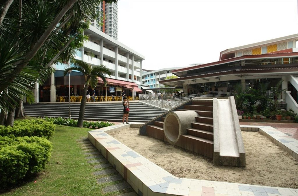 Old Playgrounds & Old HDB Estate (Part 1)