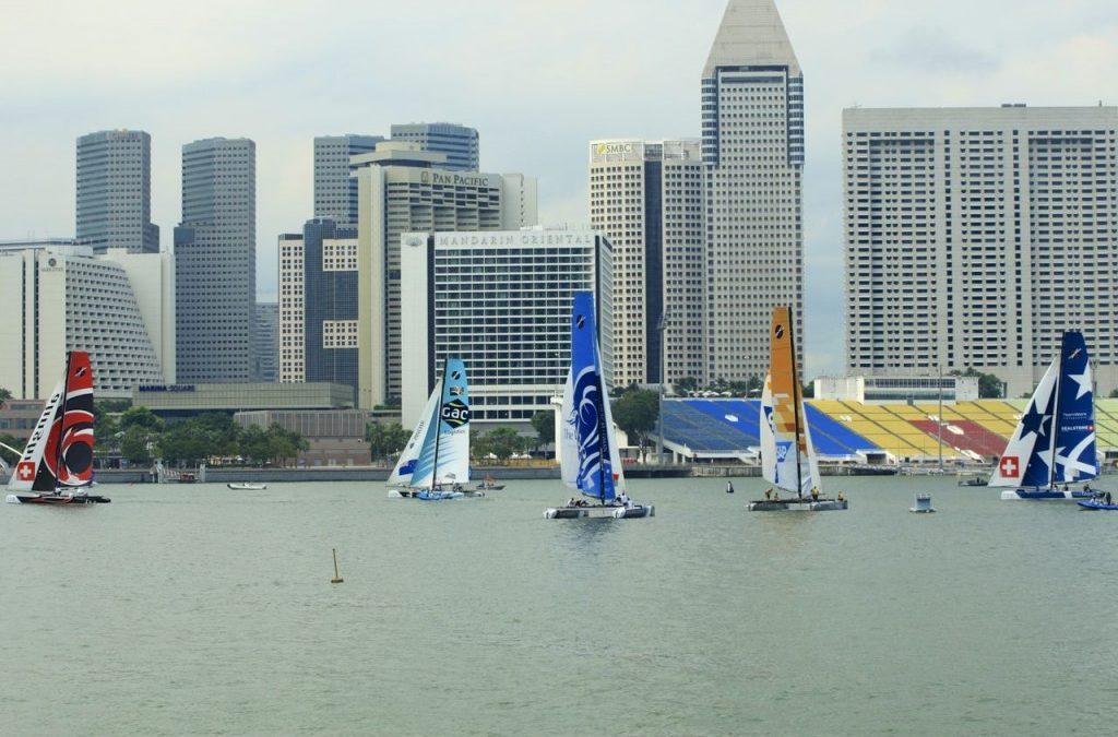 Aberdeen Extreme Sailing Series 2013 – Singapore