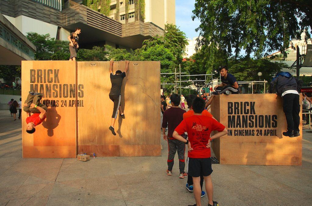 Brick Mansions Parkour Jam
