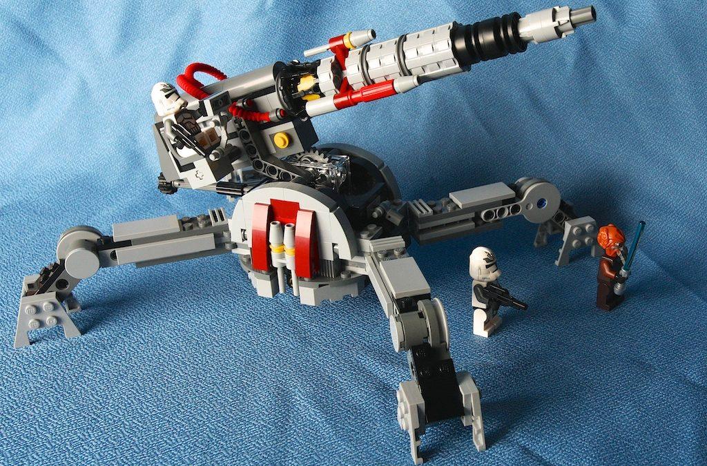 Star Wars Lego 75045 Republic AV-7 Anti-Vehicle Cannon