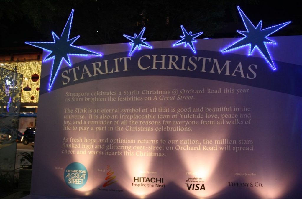Tropical Starlit Christmas in Singapore