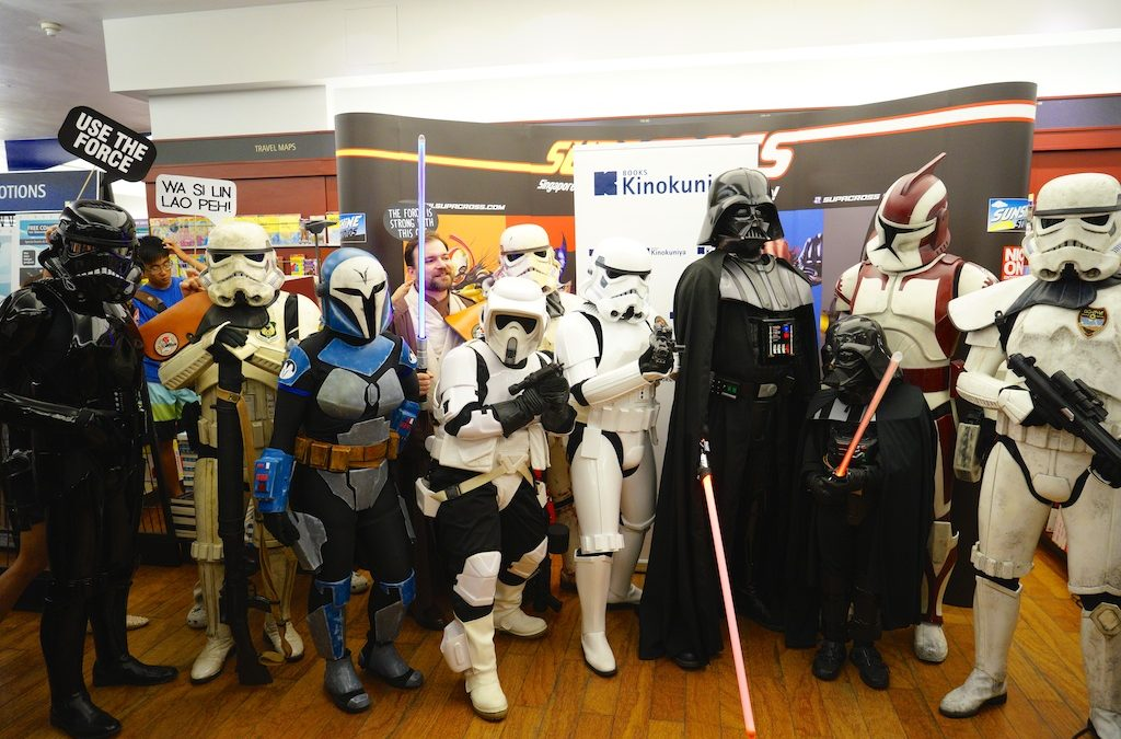 Star Wars – May The 4th Singapore 2014
