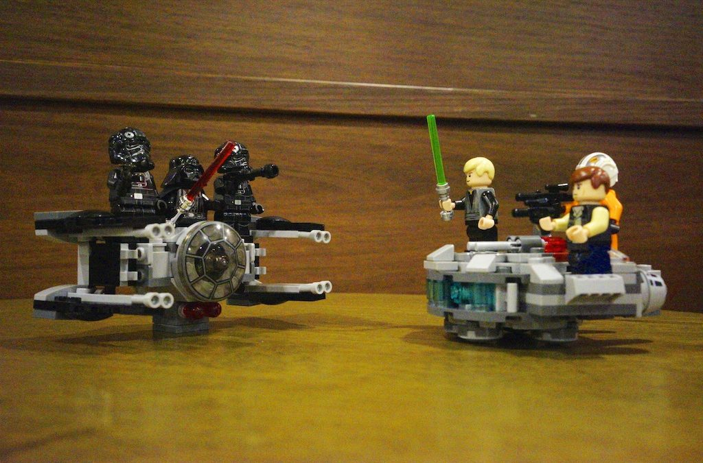 Star Wars Lego Collection Starting I Am!