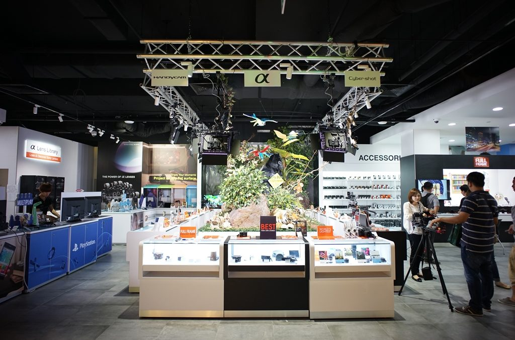 Sony opens in the Heart of Orchard Road