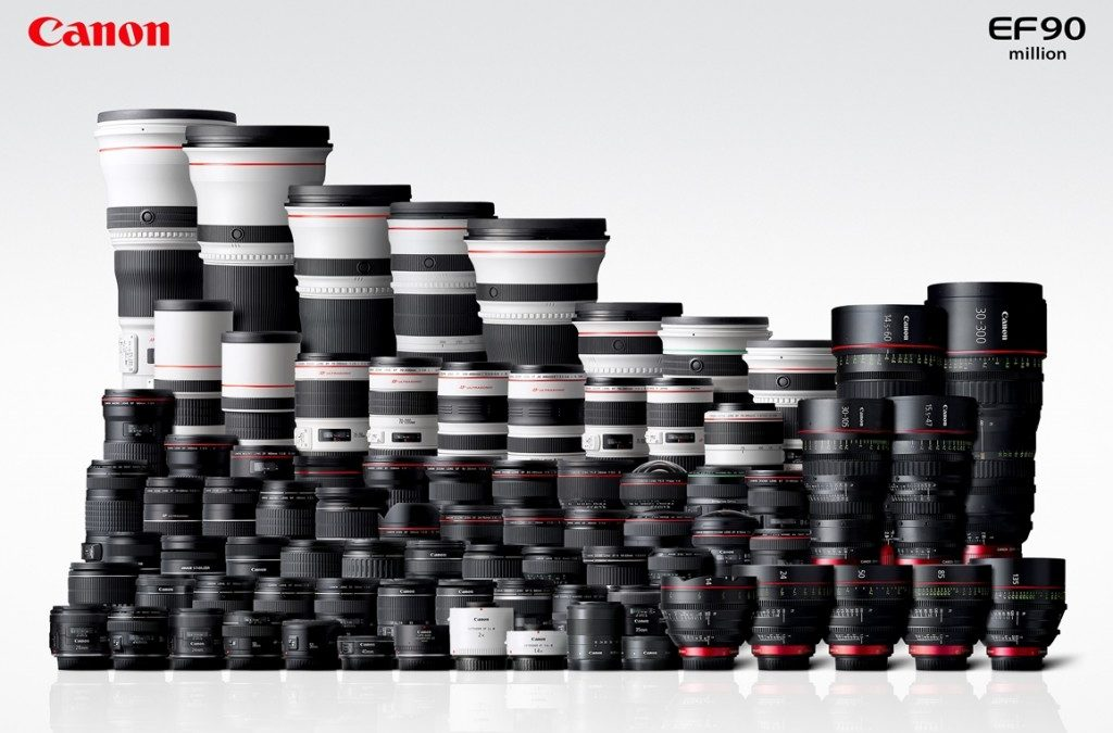 90-millionth Canon EF Lenses