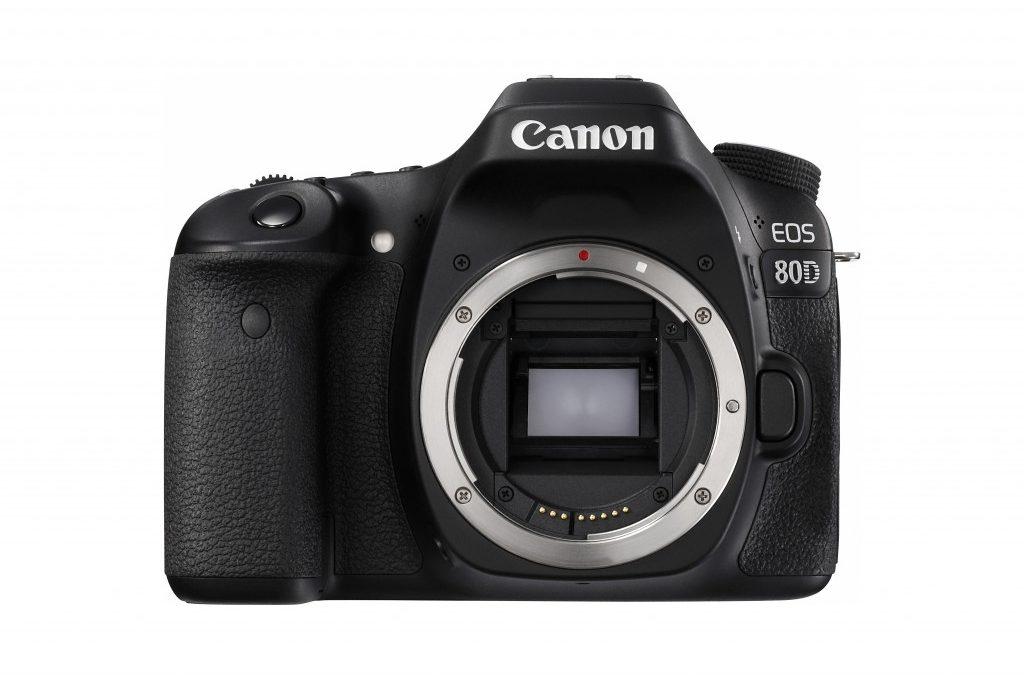 Canon Announces Canon EOS 80D