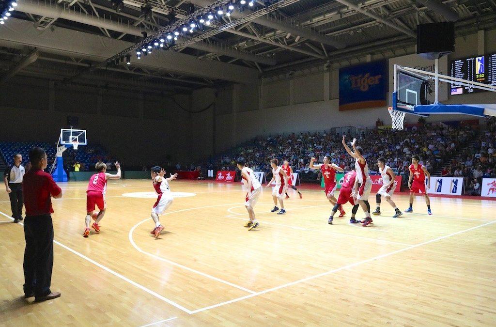 Sports Photography Action @ Sports Hub – Basketball and Netball