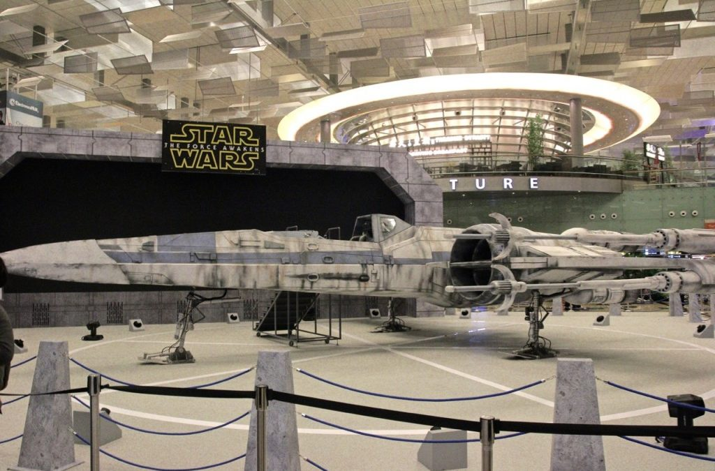 The Force is Strong with Star Wars at Changi