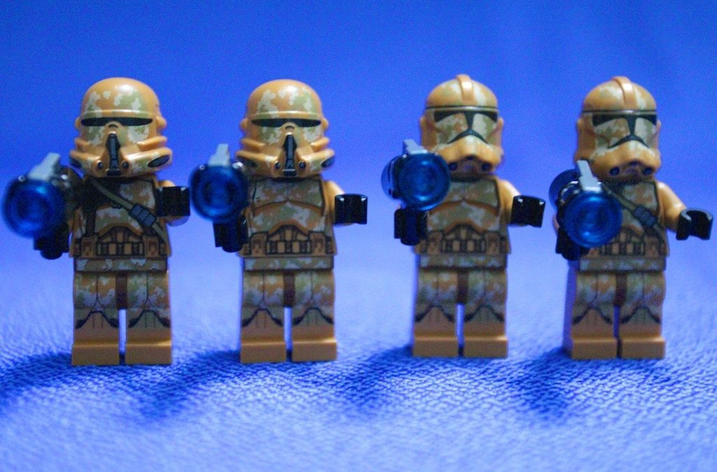 Star Wars Lego 75089 Geonosis Troopers