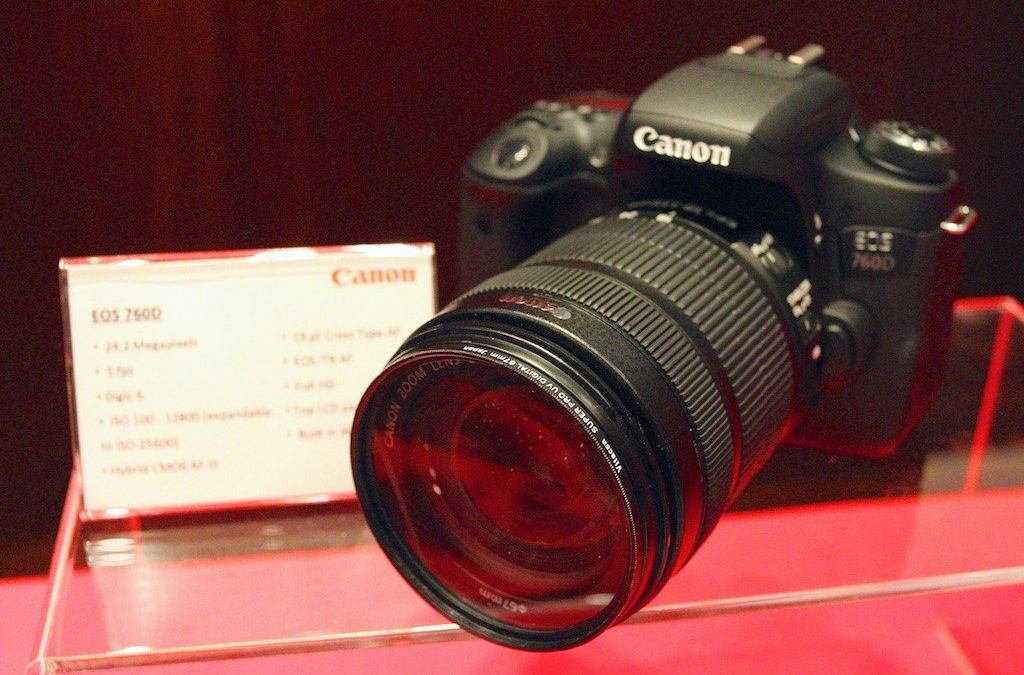 Canon announced EOS 760D and EOS 750D