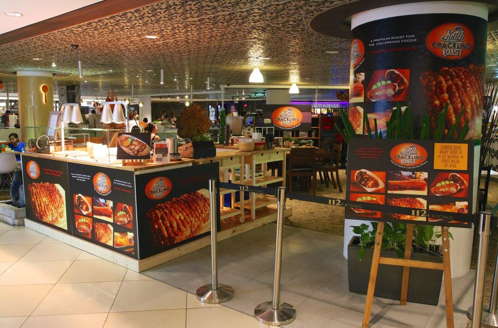 Keith Crackling Roast – new outlet opened at I12 Katong !