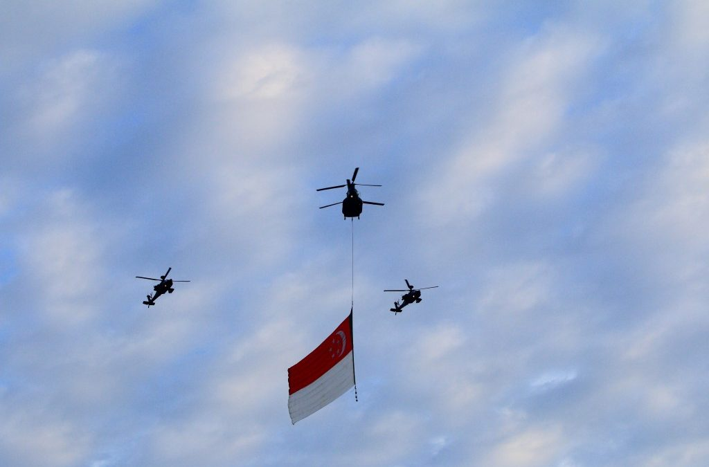 NDP 2015 Combined Rehearsal 1 – RSAF FlyPast