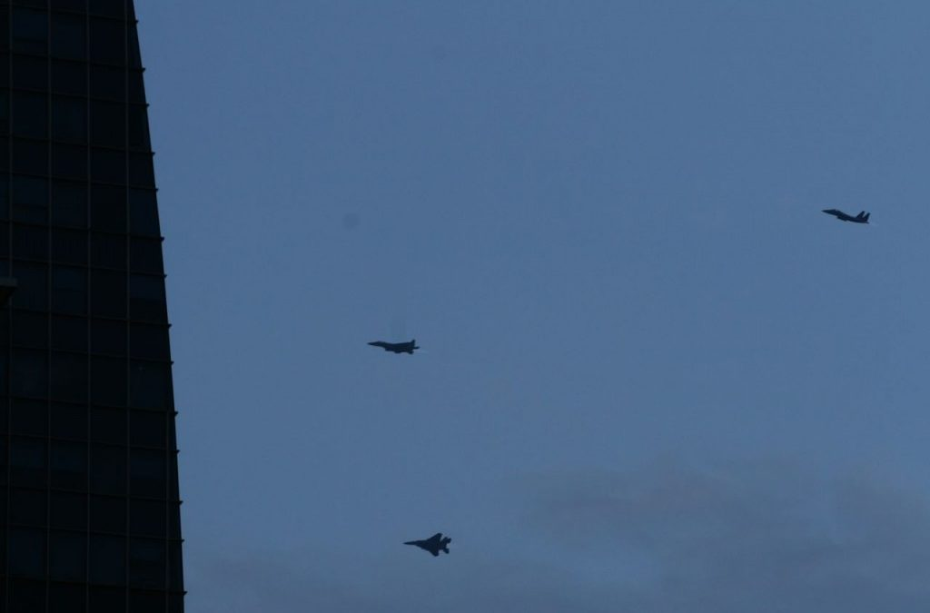 F15 & F16 Rehearsing for NDP 2010